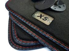 X5 Logo Fußmatten für BMW X5 E53 Original Qualität Velours limitierte Serie