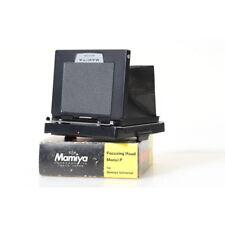 Mamiya Focusing Hood Model P / Mattscheibenadapter für Mamiya Universal