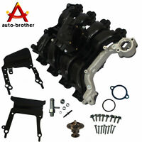 Engine Intake Manifold Upper W//Thermostat /& Gaskets Kit For E-150 E-250 Ford New