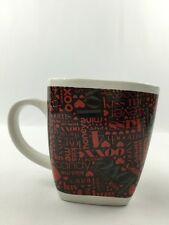 Love XOXO Mine Kiss Me Valentine Sweetheart Hugs Coffee Cup Mug X's & O's Honey
