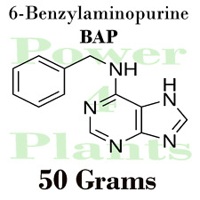 6-Benzylaminopurine 50g 99% Bap 6 Cytokinin Plant Hormone Growth Regulator