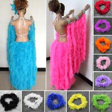 2M Poil de plumes Marabou épais pour fête de fête Burlesque Boas