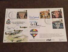 Great Britain FDC 1990 50th Anniversary Of No 249 Squadron Signed