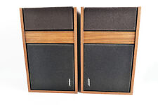Vintage Bose 301 Golden Signage Direct Reflecting Speakers 1 Pair 1975
