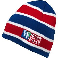 Rugby World Cup 2015 Beanie Hat by Canterbury - Hooped Design - Adults - BNWT