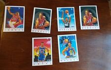 fleer 1991 basket ball animated cards vintage