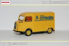 Citroën Type H (tube) Service Citroën Jaune Wiking - W 026203 - Echelle 1/87