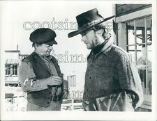 Actor Clint Eastwood in 1973 Western Movie High Plains Drifter Press Photo