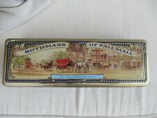 More details for rothman's of pall mall 200 cigarette tin/ box(as pic's/see spec's)collector item