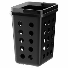 IKEA VARIERA Black Ventilated Kitchen Waste Bin (11L)