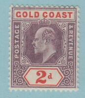 GOLD COAST 51  MINT LIGHTLY HINGED OG * NO FAULTS  VERY FINE!