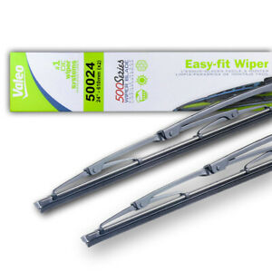 "NEW 24"" OEM VALEO WIPER BLADE PAIR FITS MERCEDES BENZ E420 1994-1995 1408201745"