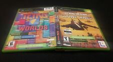 XBOX STAR WARS THE CLONE WARS & TETRIS WORLDS GAME ONLINE EDITION COMBO