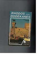 Hans-Peter Siebenhaar - Rhodos und Dodekanes. Reisehandbuch - 1992