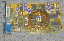 PROLINK PixelView nVIDIA GeForce FX5200 128MB AGP VGA card MVGA-NVG34AL DVI WORK