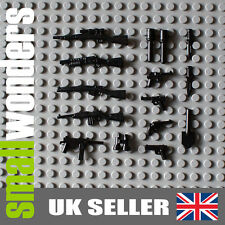 WW2 Army Weapons 15 Pack - Guns, Pistols, Grenades for your military minifigs