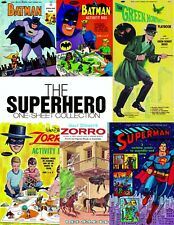 Vintage Reprint - The Superhero One-Sheet Collection - Custom Compilation