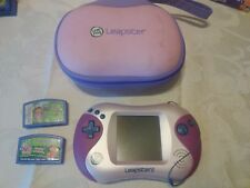 LeapFrog Leap Frog Leapster 2 Game Learning System pink w/ 2 games and case