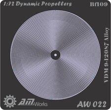 Alliance Model Works 1:72 Prop Blur Dynamic Propellers Bf-109 Detail Set #AW022