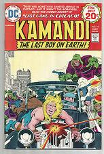 DC Comics KAMANDI The Last Boy on EARTH #19 Jack Kirby VF or better