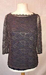Boden Taupe Blouse, Size 12