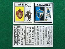 CALCIATORI 1969-70 69-1970 AREZZO ATALANTA SCUDETTO , Figurina Panini (NEW)