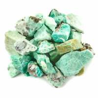 Amazonite (3 Pcs) Raw Green Crystal Chunk Natural Rough Rocks (LR33)