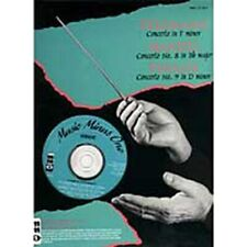 Music Minus One Handel, Telemann, Vivaldi Music Book/Cd For Oboe-Sealed-Rare-New