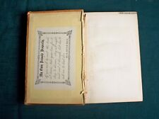 HEMAN'S POETICAL WORKS BY FELICIA HEMAN New Edition 1861 Fair to Good Condition