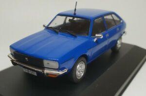 Voiture miniature 1/43 Dacia 2000 (Renault 20) 1980 Ixo / boite vitrine