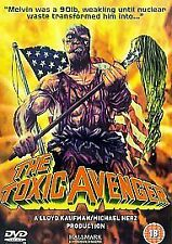 The Toxic Avenger Dvd Andree Maranda Brand New & Factory Sealed