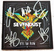 Sevendust Kill The Flaw CD Signed By All Auto Lajon Witherspoon Morgan Rose Qty.