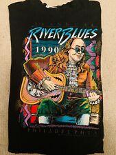 Vintage Ben Franklin Single Stitch T Shirt Xl 1990 Blues Festival Philadelphia