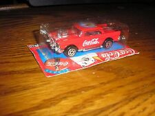 1/64 Majorette Coca-Cola Wal-Mart Radio Grill 1957 Chevy Bel Air Gasser Hot Rod