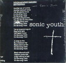 SONIC YOUTH - YOUTH AGAINST FASCISM USA PROMO CD SINGLE CARD SLEEVE SEALED NEW