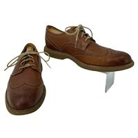 Sperry Top Sider Gold Cup Shoes Mens Size 11 M Wingtip Oxford Brown Leather