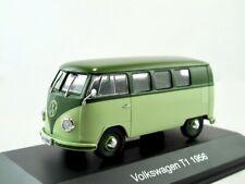 VW t1 furgoneta 1956 verde pálido/verde oliva verde/Ixo/Altaya 1:43