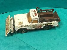lesney matchbox 1978 super kings Plymouth trail duster . No box bent axles!