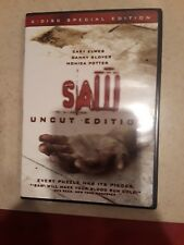 SAW Uncut Edition- 2 Disc DVD Special Edition