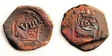 España - Felipe IV. Resellada sobre 8 Maravedis de Felipe III. Segovia VF/MBC.