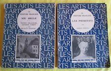 Lot de 2 livres collection Les Arts - Peinture XIXe & Les Primitifs - Ed Floury