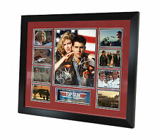 Top Gun - Signed Photo - Tom Cruise - Kelly McGillis - Movie Memorabilia Framed