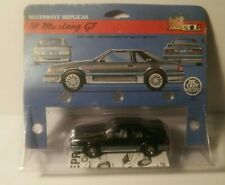 Ertl Blueprint Replicas '88 Mustang GT Ford Dark Grey 5.0 Fox Body 1:43 Scale