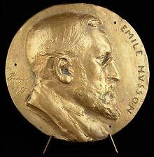 Médaille hommage à Emile Husson ancêtre des Forgerons et industrie 1877 medal