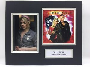 Billie Piper Dr Who Hand Signed Photo Display + COA AUTOGRAPH DOCTOR WHO