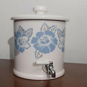 MSE Martha Stewart- Ceramic Beverage Dispenser with Lid