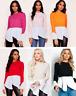 Womens Ladies 2 in 1 Layered Long Puff Sleeve Frill Shirt Hem Jumper Top Blouse