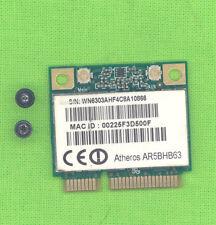 Mini PCIe W-Lan Karte Atheros AR5BHB63 für zB Fujitsu E8420