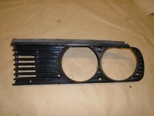 BMW E30 1987 325i PASSENGERS SIDE HEADLIGHT GRILL