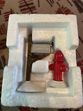 Dept 56 Heritage Village Mail Box and Fire Hydrant Metal Accessories #5517-4
